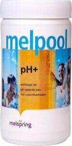 Melpool PH+ - poeder (1 kg) - Jacuzzi chloor - Spabad chloor