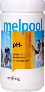 Melpool PH- poeder (1,5 kg) - Jacuzzi chloor - Spabad chloor