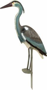 Nep reiger bij de vijver 72 cm - kunststof - vogelverjager