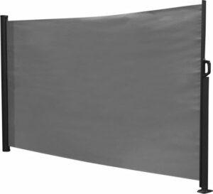 Oprolbaar windscherm 300 x 140cm antraciet