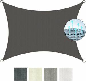 Sol Royal Zonnezeil en Schaduwdoek rechthoekig - SolVision HS9 200x300cm antraciet