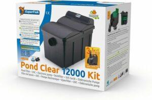 SuperFish Pond Clear Kit 12000 UVC-13W- Pomp 5000 lh