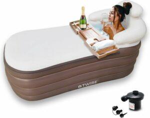 Twire® Premium Opblaasbaar Ligbad - Zitbad voor Volwassenen - Bath Bucket