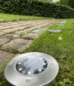 buitenverlichting op zonne energie