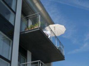 parasol voor balkon