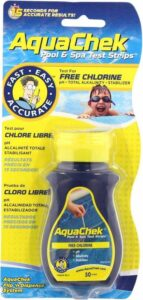 Aquacheck Test strips Aquacheck Trutest Meet chloor, pH, alkaliniteit en stabilizer - 50 stuks per verpakking