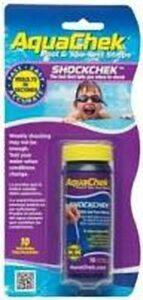 Aquacheck chloor shock 10 teststrips