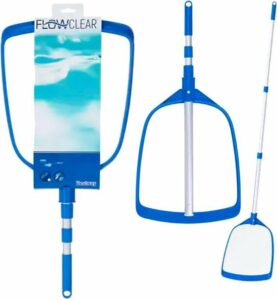 Bestway - Schepnet voor zwembad - met telescoop steel - Onderhouds set voor zwembad
