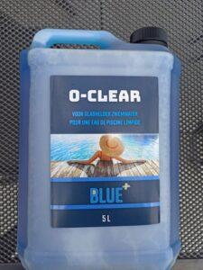 Blue+ Anti Alg - O-Clear - 5 liter Anti Alg - Zwembad - Onderhoudsmiddel - kristalhelder water - Vlokker - Anti alg - Zwembadwater - Bestrijd - Alg - Troebel