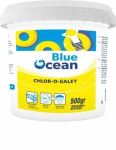 Blue Ocean chloortabletten 20 gr voor jacuzzi 1 kg