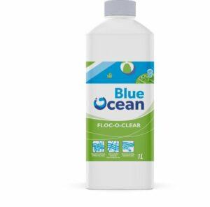 Blue Ocean vlokmiddel floc-o-clear 1 liter voor zwembaden