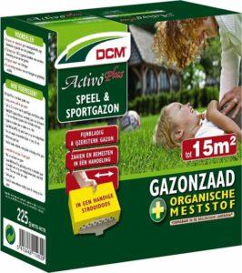 DCM Graszaad Activo Plus - speel en sportgazon - 0,225kg voor 15m²