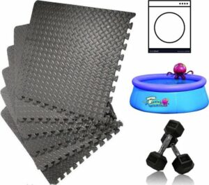 DirectSupply Zwembad Tegels - Foam - Zwembad ondergrond - 6 stuks - 40x40cm