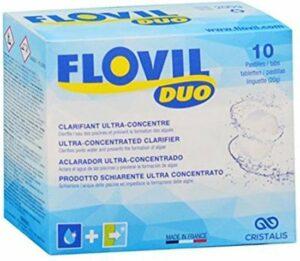 Flovil Duo vlokmiddel en anti-alg voor zwembaden