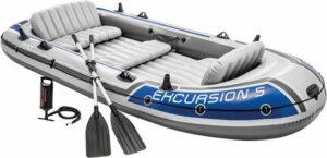 Gutos Intex Roeiboot 5 personen - Oplaasboot - Met peddels - Kano - Volwassenen
