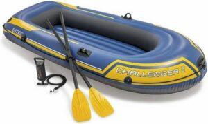 Intex 68367NP Challenger 2-Persoons Boot Set