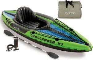 Intex Kajak opblaasbaar Challenger K1 274x76x33 cm 68305NP