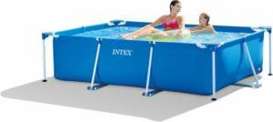 Intex Metal Frame pool - Zwembad - 220 x 150 x 60 cm - Blauw