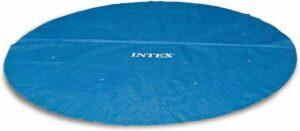 Intex Solar Cover - Voor easy Set & Rond Frame zwembaden - 366 cm - Met reparatiesetje