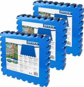Intex - Voordeelverpakking - Zwembad tegels - 50 x 50 cm - 24 tegels - 6m²