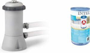 Intex Zwembad Filterpomp 2271 L uur – Inclusief Intex A Filter