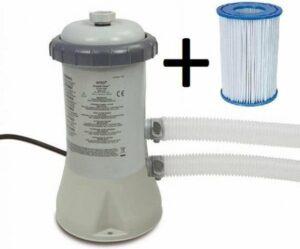 Intex Zwembad Filterpomp 3407 L uur – inclusief filter