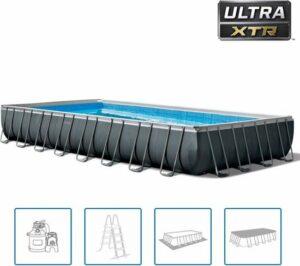 Intex Zwembadset Ultra XTR Frame rechthoekig 975x488x132 cm
