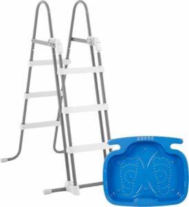 Intex trap klein (107 cm) + voetenbad