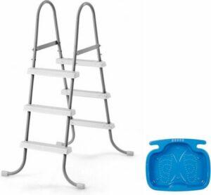 Intex - zwembad trap klein (91 cm) + voetenbad