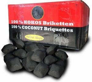 Kokosbriketten Barbecue - Indische eitjes (10Kg)