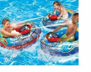Luxe - Opblaasboot met waterpistool - Motorized Bumper Boat - Opblaasbare botsboot met motor - Voor kinderen