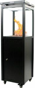 MaxxGarden Cordoba Lounge Terrasverwarmer - Buitenhaard gas - staand 7,5Kw - incl hoes