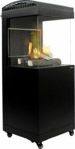 MaxxGarden Malaga Lounge Terrasverwarmer - Buitenhaard gas - staand 9Kw - incl hoes