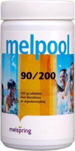 Melpool grote chloortabletten 200 grams 1 kg