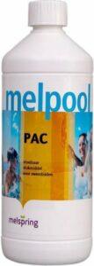 Melpool vlokmiddel verwijdert troebel zwembadwater 1 liter