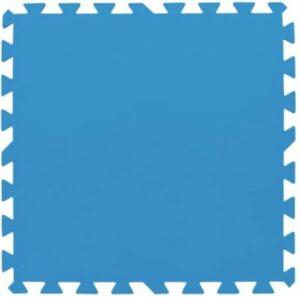 NEKA - Zwembadtegels - Vloertegels - Ondertegels - 8 Stuks - 50 x 50 x 0,4 cm - Blauw - Foam