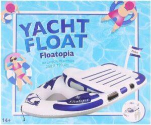 Opblaasbare boot-Wit-Blauw250 x 120 cm