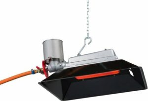 SBVR S8 Terrasverwarmer- Infraroodstraler - 3500W - 50-190mBar Propaan - Gas