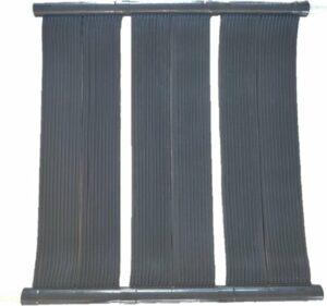 Solar heater zwembad verwarming - 100 x 100 cm - Flexibele epdm mat zwembadverwarming Solar4pool set voor alle zwembaden