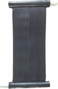 Solar heater zwembad verwarming - 33 x 66 cm - Flexibele epdm mat zwembadverwarming Solar4pool set voor alle zwembaden