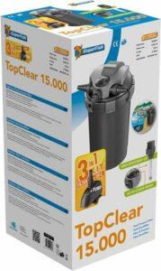 SuperFish Top Clear Kit 15.000 - Incl. pomp en UVC - Vijverfilter - Drukfilter