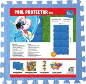Zwembad ondervloer tegels 4mm