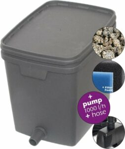 Velda Box Filter set 4000 Vijverfilter 20 L met pomp 1000 L 146037