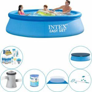 Zwembad Inclusief Accessoires - Intex Easy Set Rond 305x76 cm