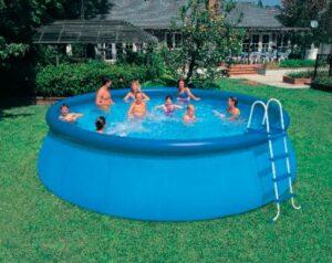zwembad plakken