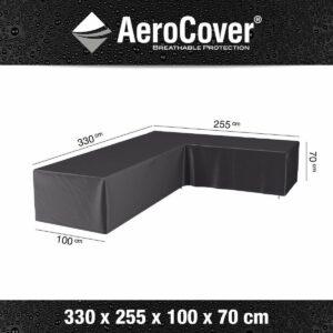 AeroCover loungesethoes 330x255x100xH70 R - antraciet