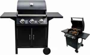 BBQ collection Gasbarbecue - 3 Branders - RVS