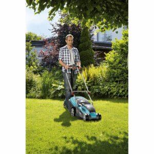 Elektrische grasmaaier voor een kleiner gazon