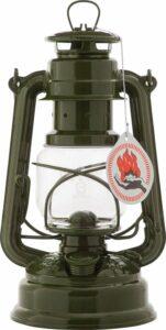 Feuerhand 276 Stormlantaarn - 26 cm - Verzinkt - olijf groen