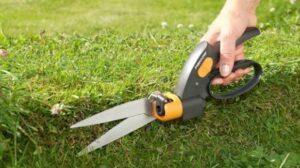 Handmatige grasschaar